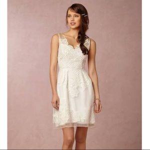 Yoana Baraschi Celestina ivory lace silk dress 2